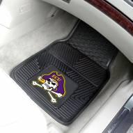 East Carolina Pirates Vinyl 2-Piece Car Floor Mats