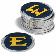 East Tennessee State Buccaneers 12-Pack Golf Ball Markers