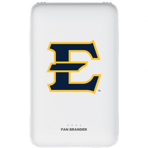 East Tennessee State Buccaneers 5,000 mAh Portable Power Bank