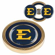 East Tennessee State Buccaneers Challenge Coin with 2 Ball Markers