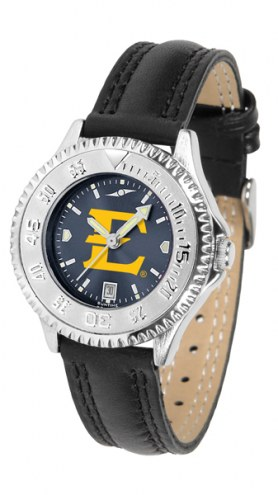 East Tennessee State Buccaneers Competitor AnoChrome Women's Watch