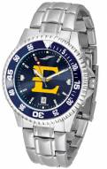 East Tennessee State Buccaneers Competitor Steel AnoChrome Color Bezel Men's Watch