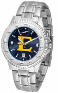 East Tennessee State Buccaneers Competitor Steel AnoChrome Men's Watch