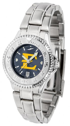 East Tennessee State Buccaneers Competitor Steel AnoChrome Women's Watch