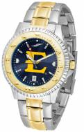 East Tennessee State Buccaneers Competitor Two-Tone AnoChrome Men's Watch