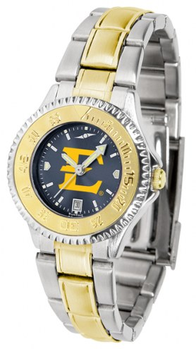 East Tennessee State Buccaneers Competitor Two-Tone AnoChrome Women's Watch