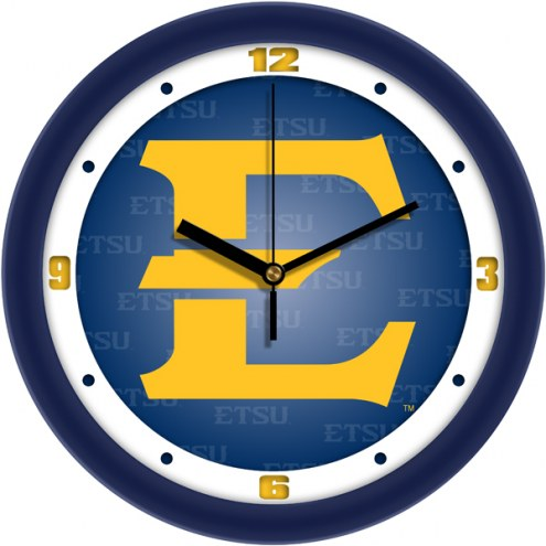 East Tennessee State Buccaneers Dimension Wall Clock