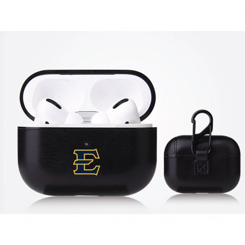 East Tennessee State Buccaneers Fan Brander Apple Air Pod Pro Leather Case