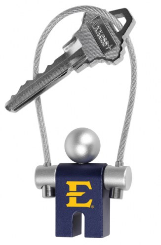 East Tennessee State Buccaneers Jumper Keychain