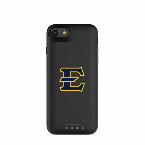 East Tennessee State Buccaneers mophie iPhone 8/7 Juice Pack Air Black Case