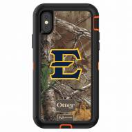 East Tennessee State Buccaneers OtterBox iPhone X Defender Realtree Camo Case