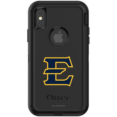 East Tennessee State Buccaneers OtterBox iPhone X/Xs Defender Black Case