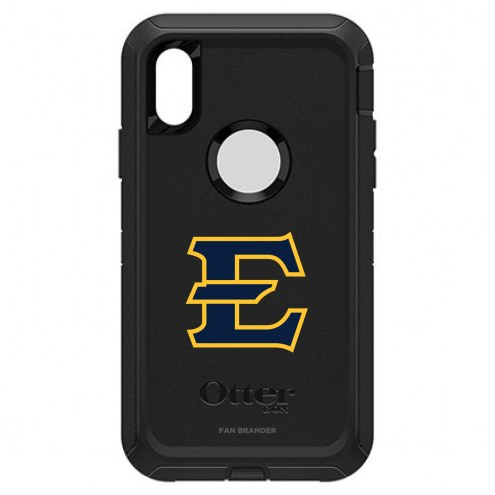 East Tennessee State Buccaneers OtterBox iPhone XR Defender Black Case