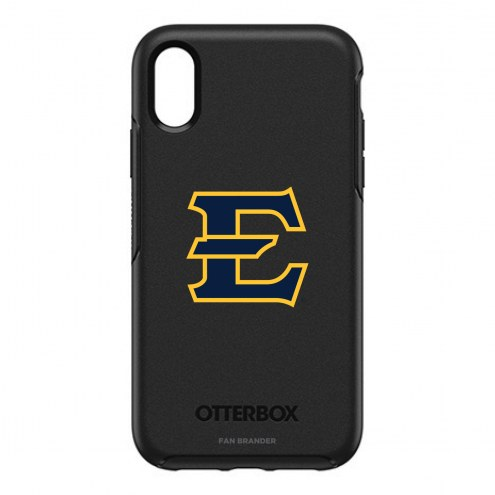East Tennessee State Buccaneers OtterBox iPhone XR Symmetry Black Case