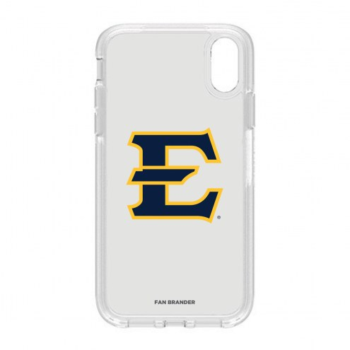 East Tennessee State Buccaneers OtterBox iPhone XR Symmetry Clear Case