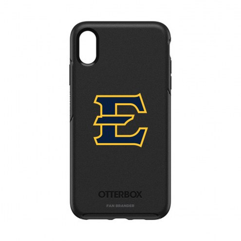 East Tennessee State Buccaneers OtterBox iPhone XS Max Symmetry Black Case