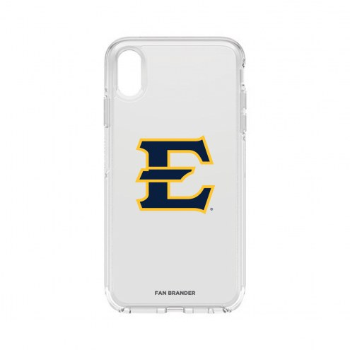 East Tennessee State Buccaneers OtterBox iPhone XS Max Symmetry Clear Case