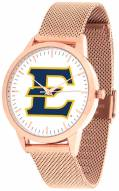 East Tennessee State Buccaneers Rose Mesh Statement Watch