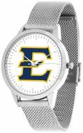East Tennessee State Buccaneers Silver Mesh Statement Watch