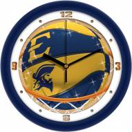 East Tennessee State Buccaneers Slam Dunk Wall Clock