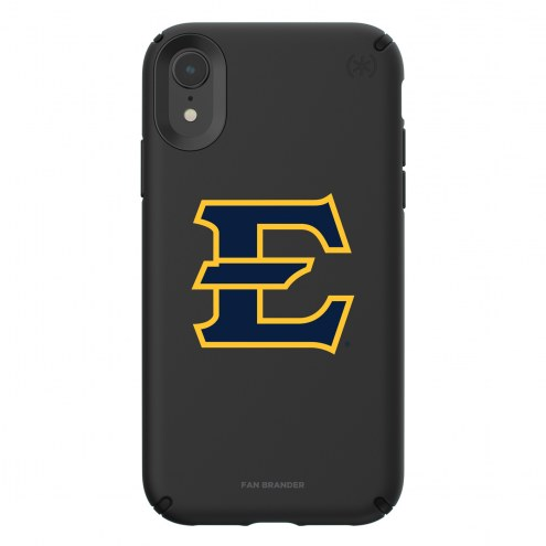 East Tennessee State Buccaneers Speck iPhone XR Presidio Pro Black Case