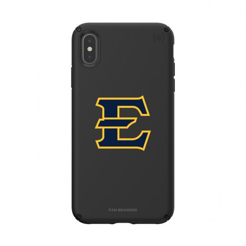 East Tennessee State Buccaneers Speck iPhone XS Max Presidio Pro Black Case