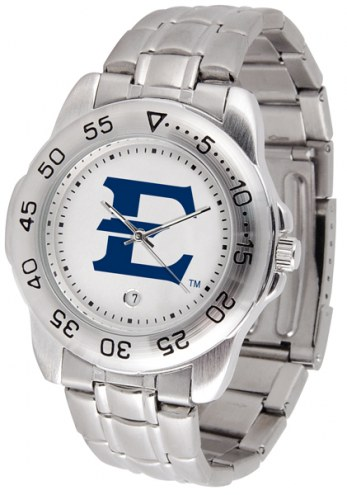 East Tennessee State Buccaneers Sport Steel Men's Watch