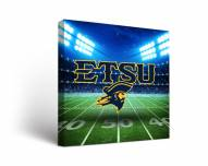 East Tennessee State Buccaneers Stadium Canvas Wall Art