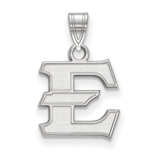 East Tennessee State Buccaneers Sterling Silver Small Pendant