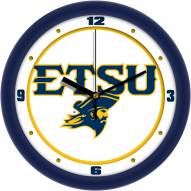 East Tennessee State Buccaneers Traditional Wall Clock