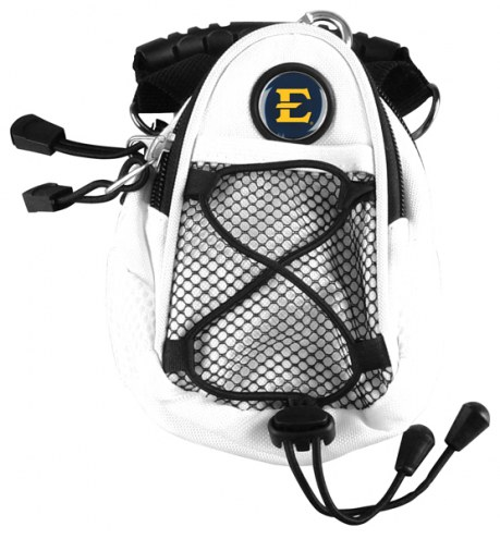 East Tennessee State Buccaneers White Mini Day Pack