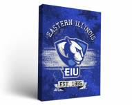 Eastern Illinois Panthers Banner Canvas Wall Art