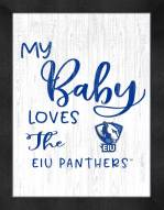 Eastern Illinois Panthers My Baby Loves Framed Print