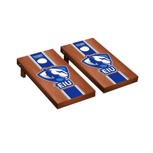 Eastern Illinois Panthers Rosewood Stained Cornhole Game Set
