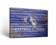 Eastern Illinois Panthers Weathered Canvas Wall Art