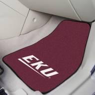 Eastern Kentucky Colonels 2-Piece Carpet Car Mats