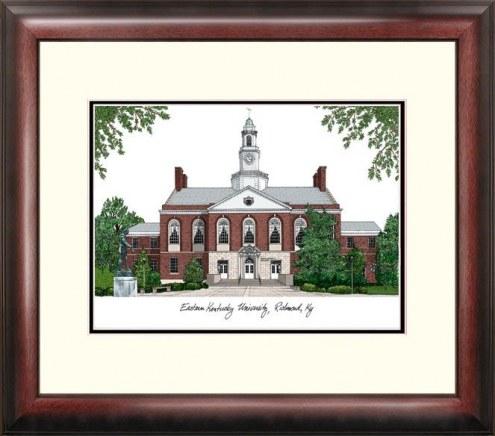 Eastern Kentucky Colonels Alumnus Framed Lithograph