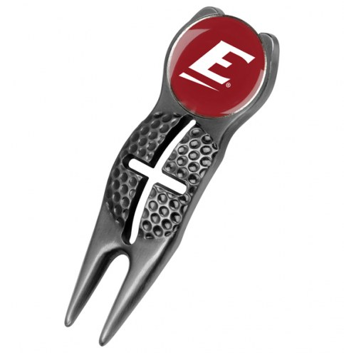 Eastern Kentucky Colonels Black Crosshairs Divot Tool