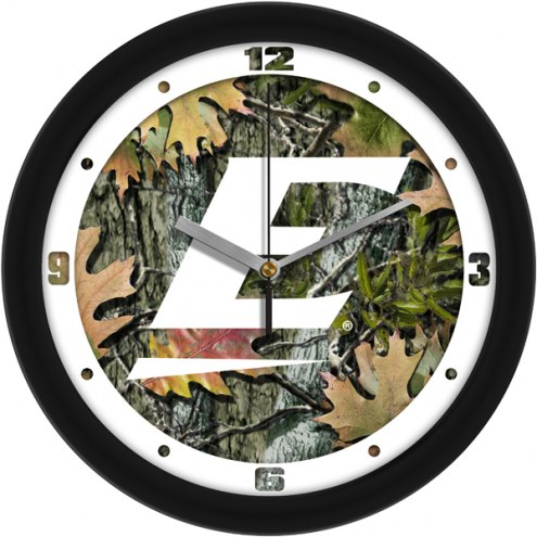Eastern Kentucky Colonels Camo Wall Clock