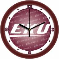 Eastern Kentucky Colonels Dimension Wall Clock