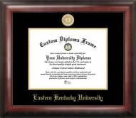 Eastern Kentucky Colonels Gold Embossed Diploma Frame