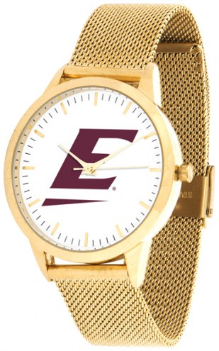 Eastern Kentucky Colonels Gold Mesh Statement Watch