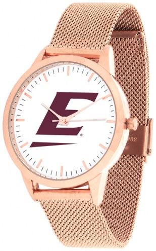 Eastern Kentucky Colonels Rose Mesh Statement Watch