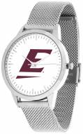 Eastern Kentucky Colonels Silver Mesh Statement Watch
