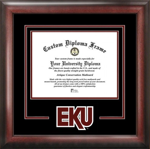 Eastern Kentucky Colonels Spirit Diploma Frame