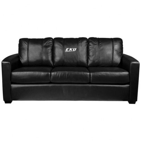 Eastern Kentucky Colonels XZipit Silver Sofa