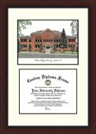 Eastern Michigan Eagles Legacy Scholar Diploma Frame
