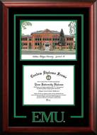 Eastern Michigan Eagles Spirit Graduate Diploma Frame