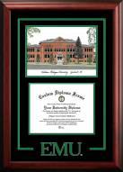 Eastern Michigan Eagles Spirit Graduate Diploma Frame