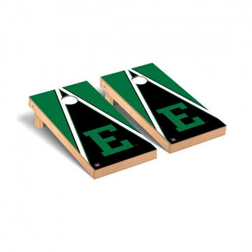 Eastern Michigan Eagles Triangle Cornhole Game Set